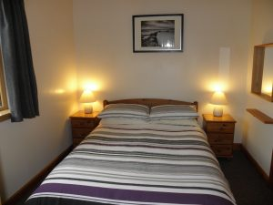 Double bedroom in two bedroom lodge